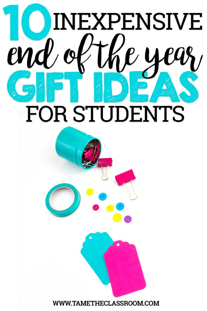 10 Inexpensive End of the Year Gift Ideas for Students