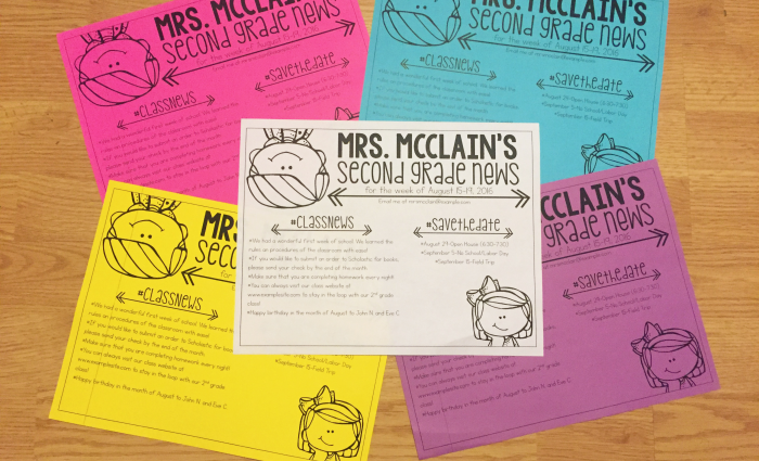 How Classroom Newsletters Keep Parents Informed (+ A Free Newsletter)