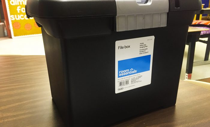 How This File Box Helps Me Tame My Graded Papers