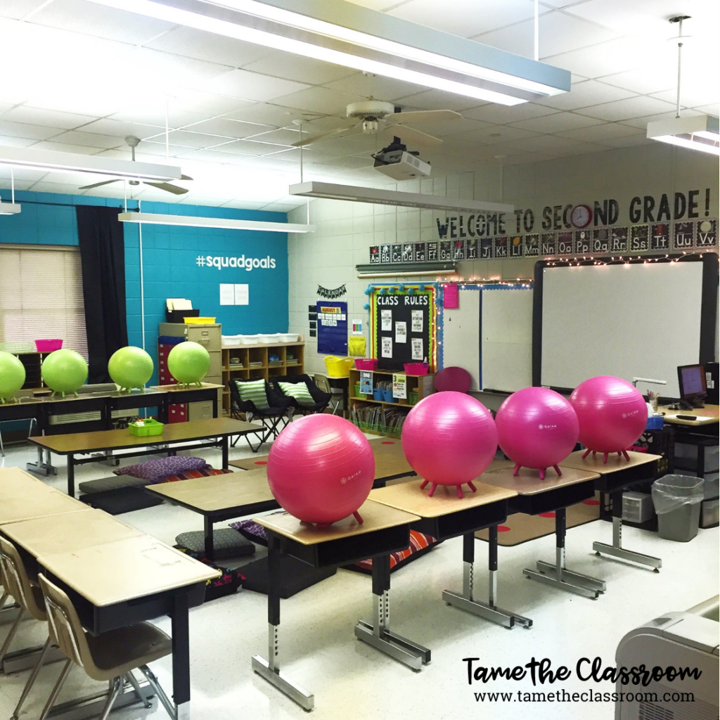 Modern Classroom Seating ~ Before you buy that discarded rocket ship seat…a
