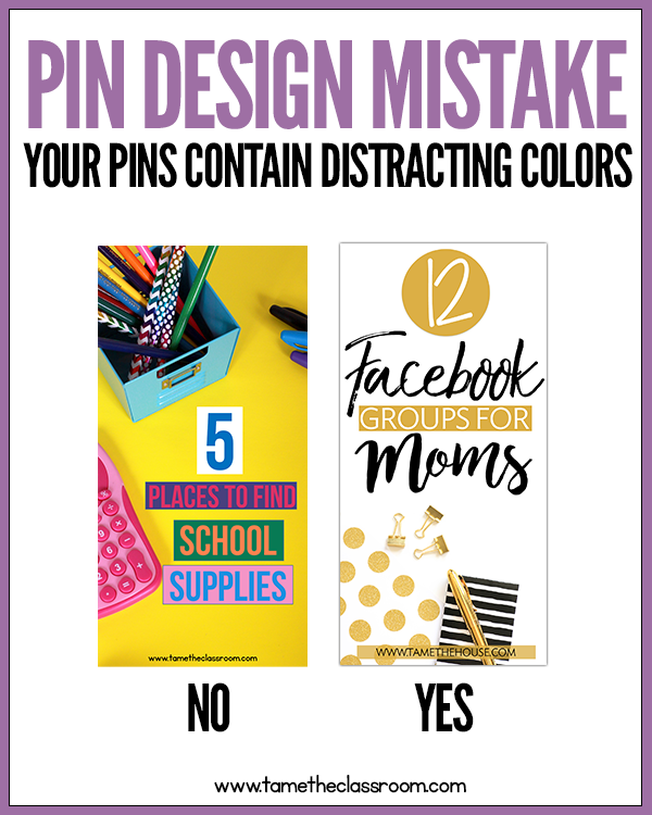 When it comes to pin design, what mistakes are you making? As an entrepreneur, you are most likely utilizing Pinterest to reach your target audience. Avoid making these 5 simple pin design mistakes and get your pins noticed.