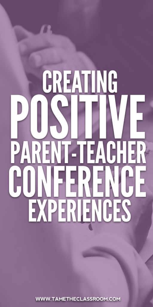 Parent teacher conference tips and how you can proactively prepare for conferences. Guest blogger Carolyn Gardner shares tips for proactively preparing for conferences you didn't request. #teachingadvice #parenteacherconferences #parentteachercommunication #parentcommunication #classroommanagement