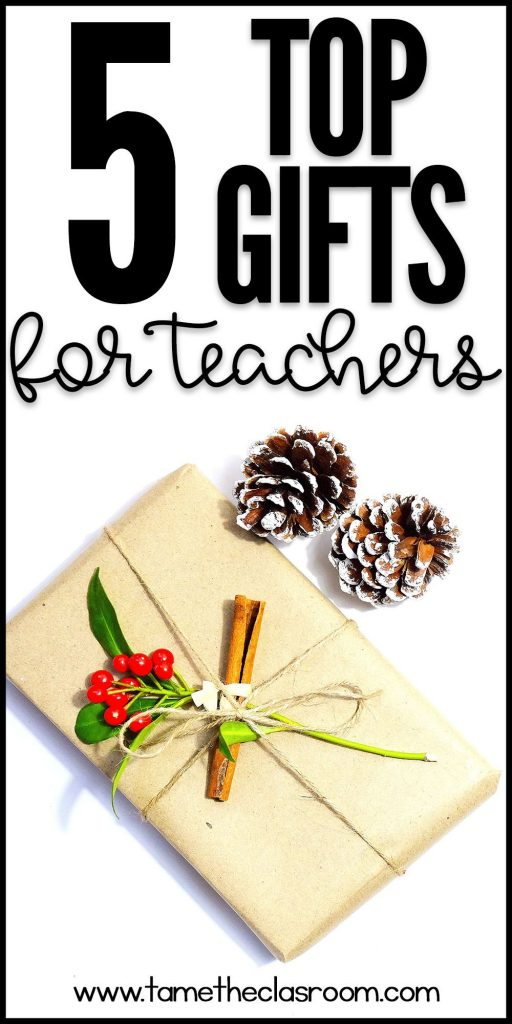 Whether you are shopping for your child's teacher or a teacher friend, here are the top 5 gifts that I think teachers want. #teachergifts #giftsforteachers #christmas #christmasgiftideas #holiday #gifttips #giftideas