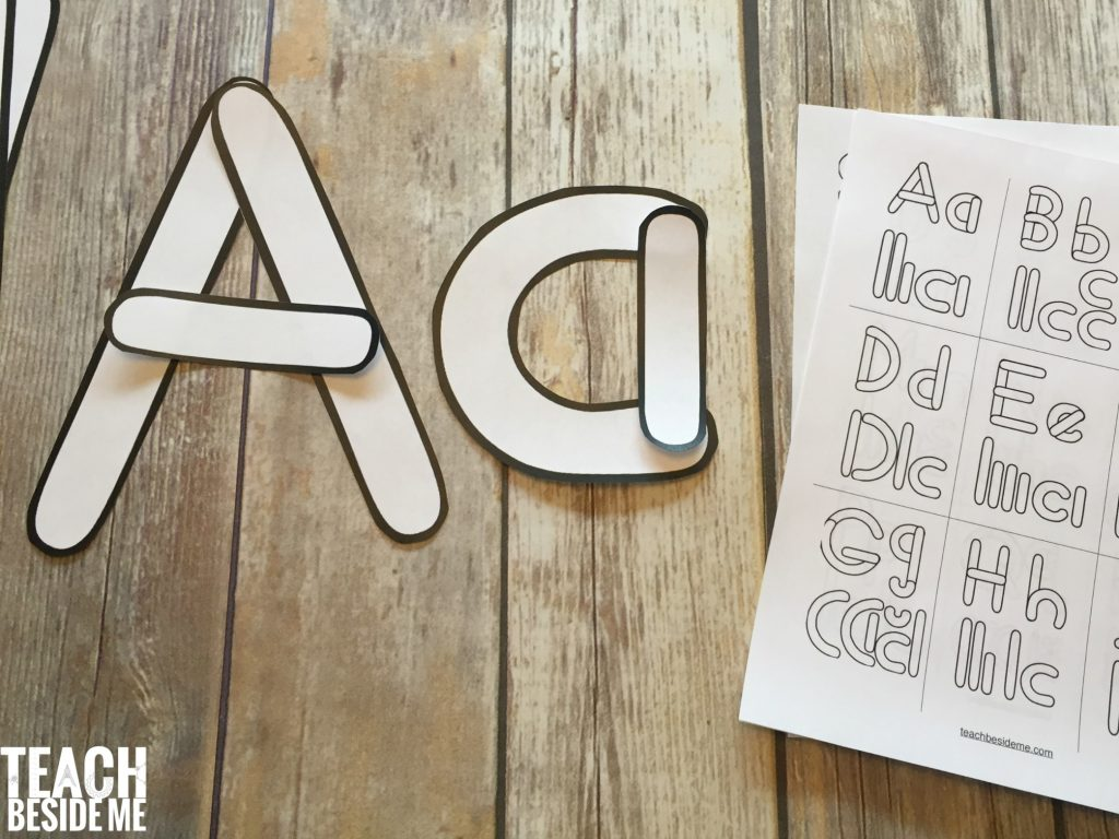 Teach-Beside-Me-Letter-Building-Templates Teachers Alphabet Letter Templates on teachers alphabet printable worksheets, tracing letter b templates, printable alphabet templates,
