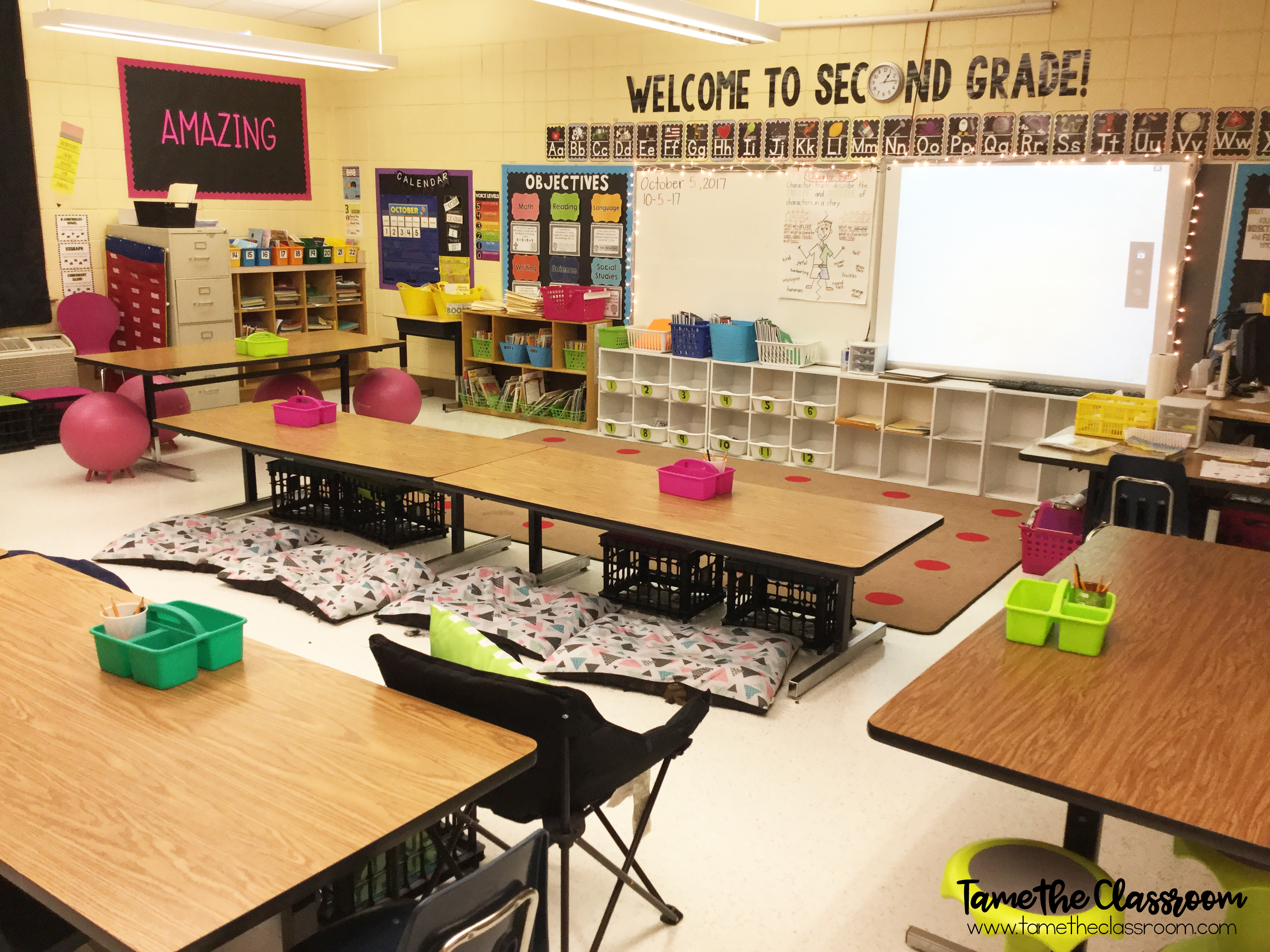 What Flexible Seating Looks Like My Classroom1 Tame The Classroom