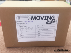 End of the Year Ideas for Packing Up Your Classroom