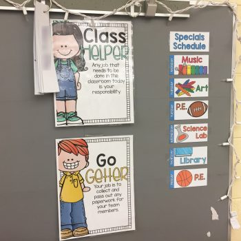 Classroom Jobs Management for Busy Teachers
