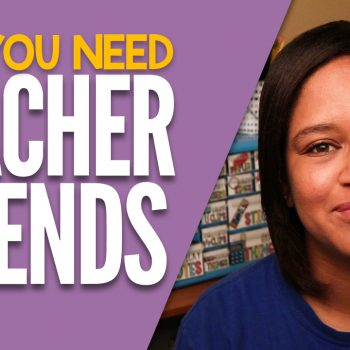 Teaching can be stressful! That's why you need teacher friends to help you along the way. Here are a few reasons why you need teacher friends in your life! #teachingadvice #teachingtips #teacherfriends